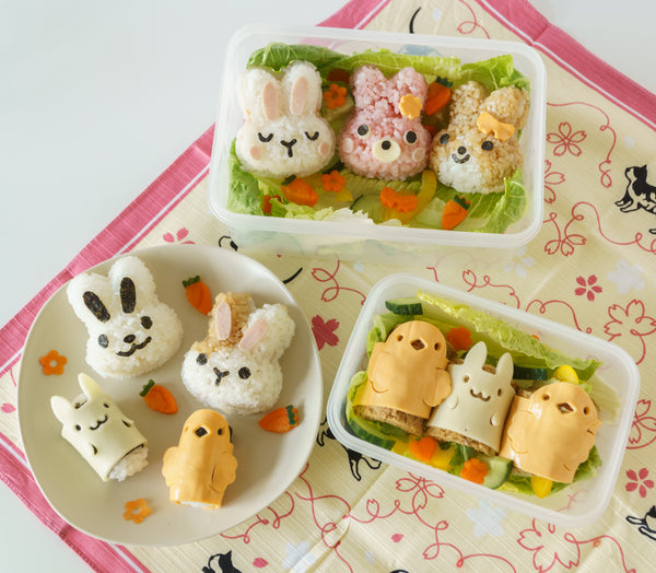Finished Easter Bentos