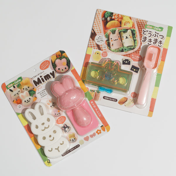 Mimy Onigiri and Animal Maki Maki packaging