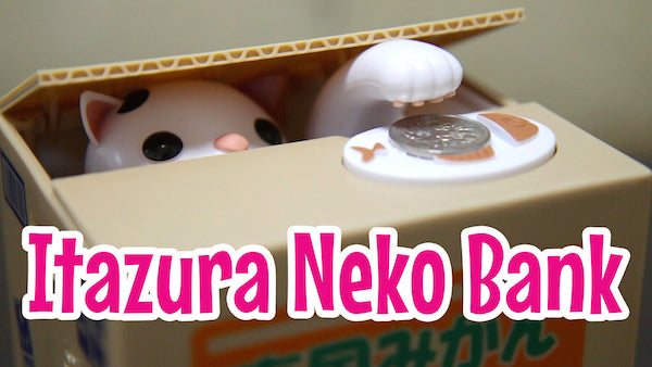 Itazura Neko Bank on the Marimo Marshmallow YouTube channel