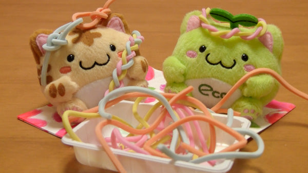 String Candy Tangled Plush Kittens