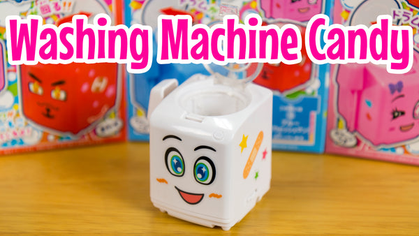 washing machine candy on the Marimo Marshmallow YouTube channel