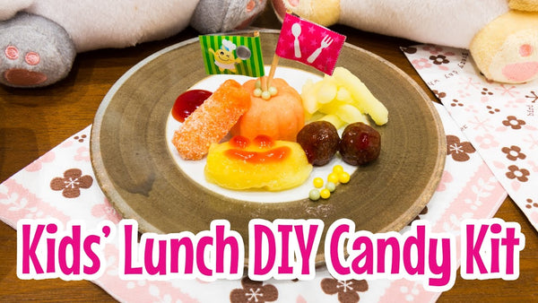 Kids' Lunch DIY Candy Kit on the Marimo Marshmallow YouTube channel