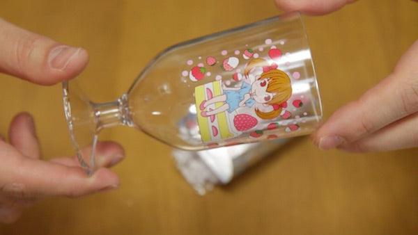 cute parfait collectable glass