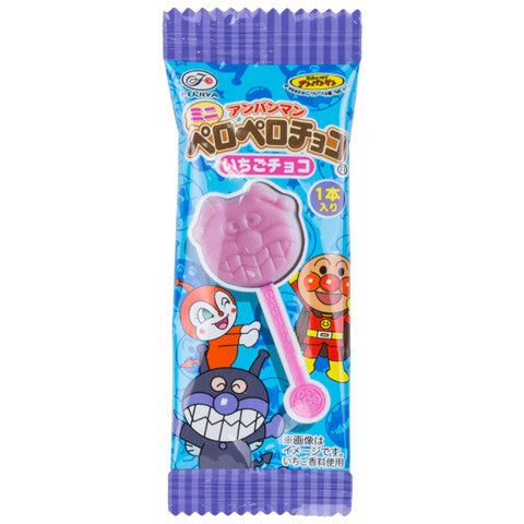 Anpanman Chocolate Lollipop (Strawberry)