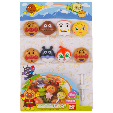 Anpanman & Friends Picks - Marimo Marshmallow Store