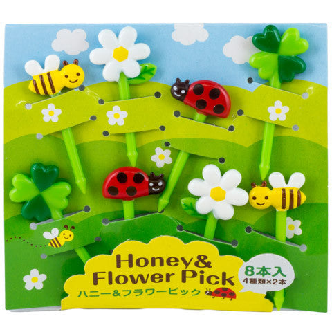 Honey & Flower Picks - Marimo Marshmallow Store