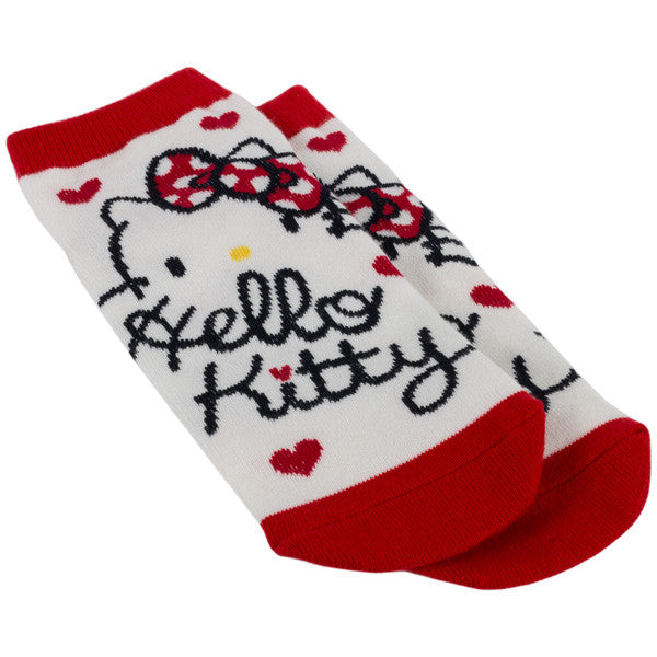 Hello Kitty Socks (Script) - Marimo Marshmallow Store
