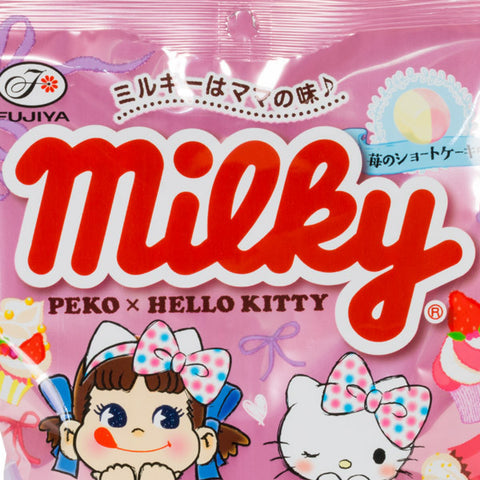 Peko Chan and Hello Kitty Milky Candy