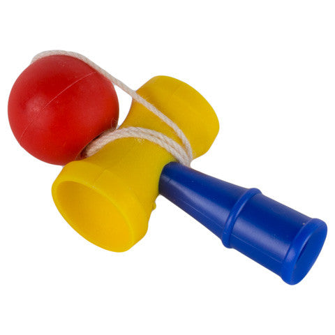 Playable Kendama Toy Eraser
