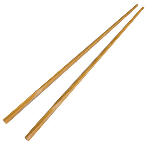 Handmade Bamboo Twist Chopsticks (Natural) - Marimo Marshmallow Store
