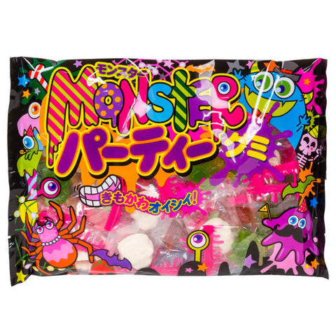 Monster Party Gummy Bag