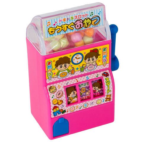 Candy Slot Machine - Pink - Marimo Marshmallow Store