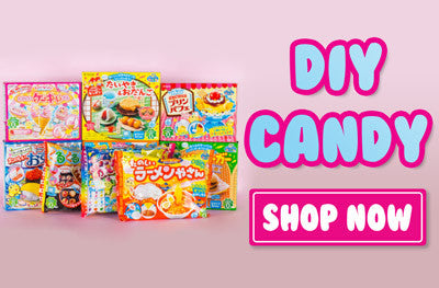 Japanese DIY candy kits imported from Japan