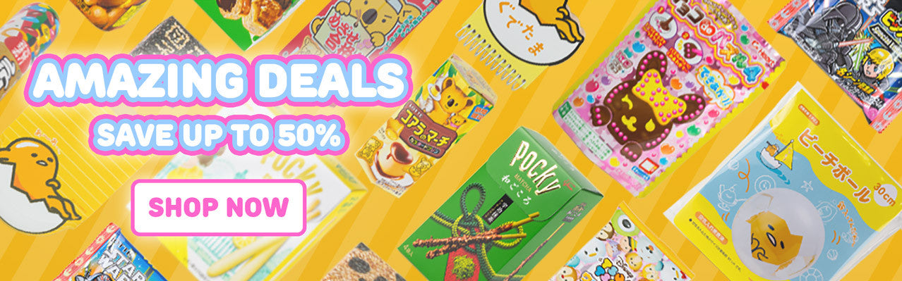 Japanese DIY candy kits, snacks, stationary and accessories imported from Japan and on sale