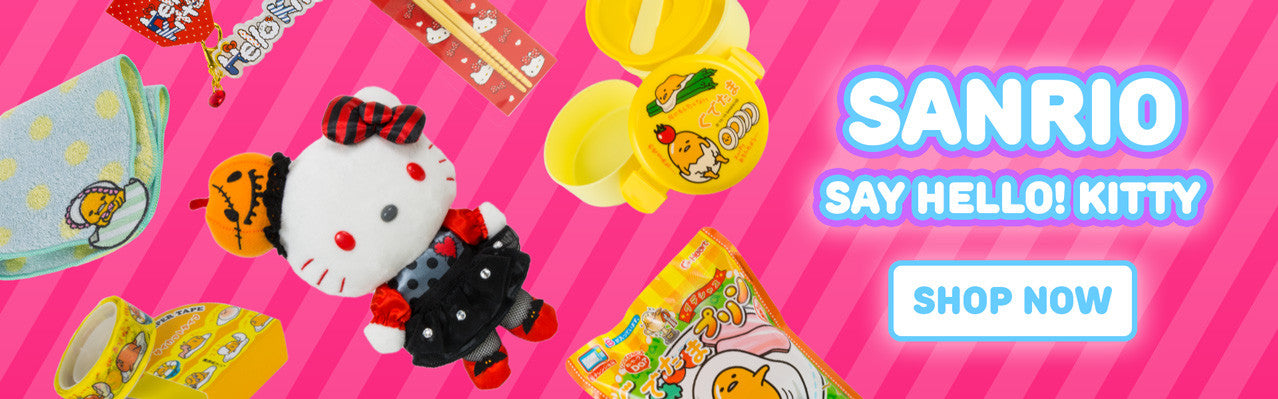exclusive Japanese Sanrio products imported from Japan