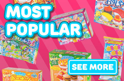 Our most popular candy, DIY kits and snacks from Japan