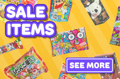 Candy, DIY kits and snacks from Japan all on sale