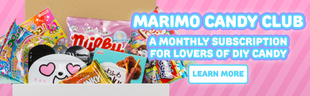 Marimo Candy Club - a monthly subscription box for Japanese DIY candy kit lovers