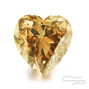 1.26ct Authentic Australian Champagne Argyle Diamond - C4