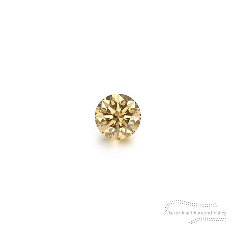 .01ct Authentic Australian Champagne Argyle Diamond - C5