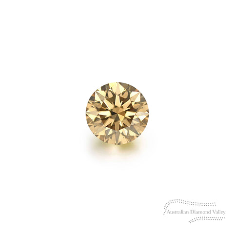 .03ct Authentic Australian Champagne Argyle Diamond - C5