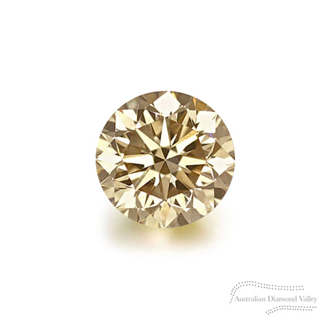 .10ct Authentic Australian Champagne Argyle Diamond - C3