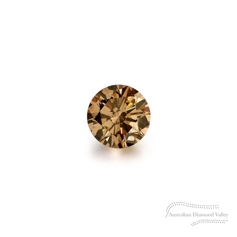 .03ct Authentic Australian Cognac Argyle Diamond - C7