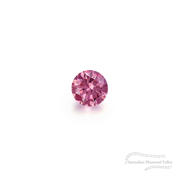 .01ct Authentic Australian Pink Argyle Diamond - 2PP