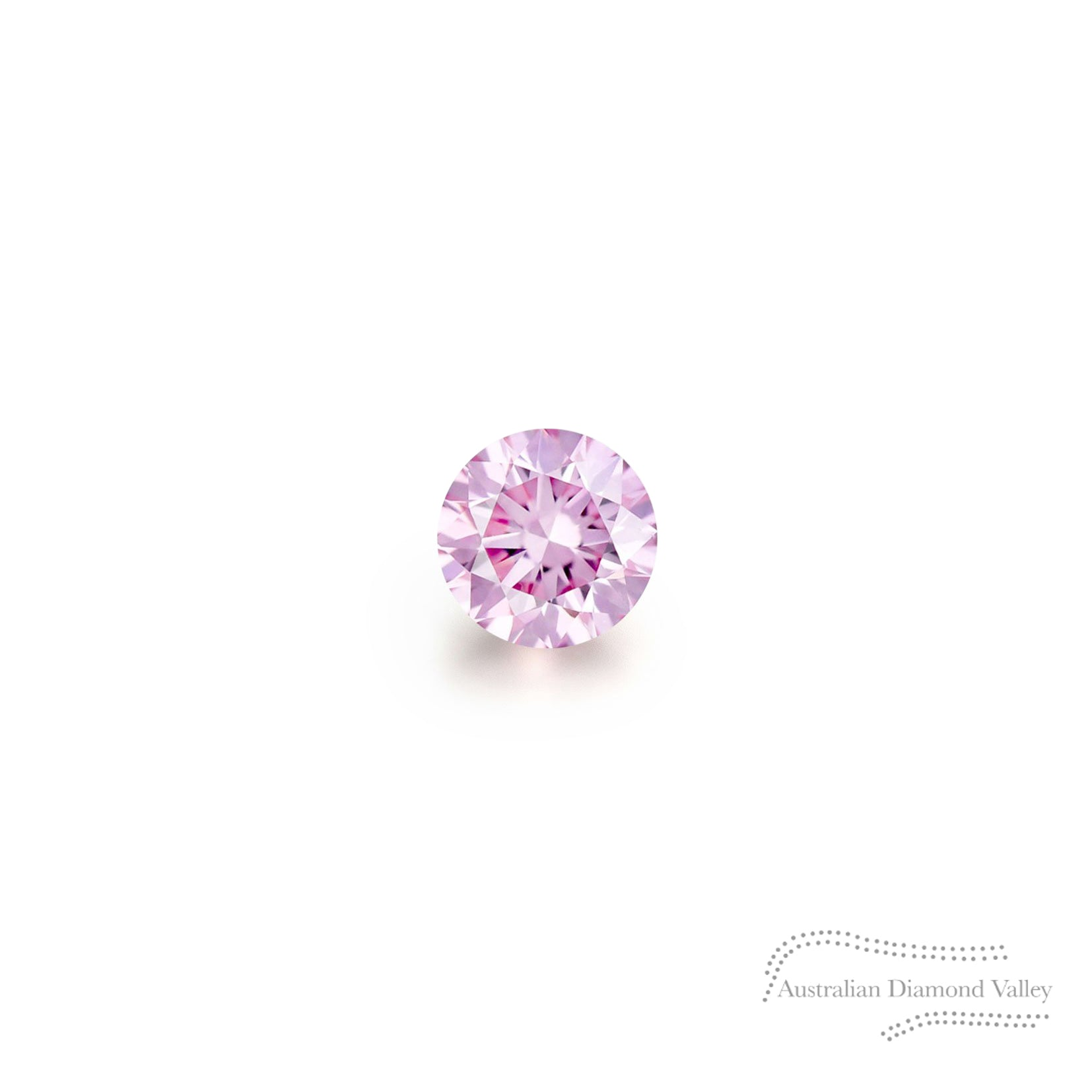 .01ct Authentic Australian Pink Argyle Diamond - 6P