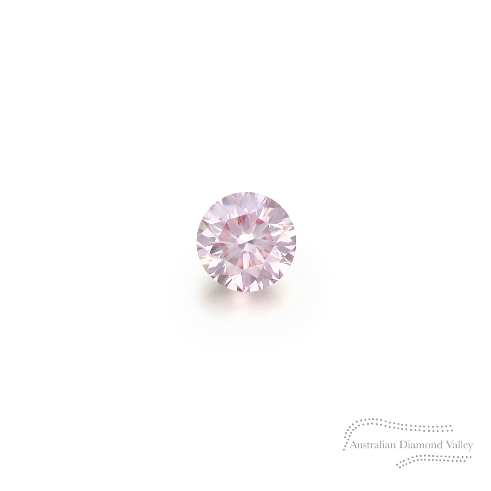.01ct Authentic Australian Pink Argyle Diamond - 7P