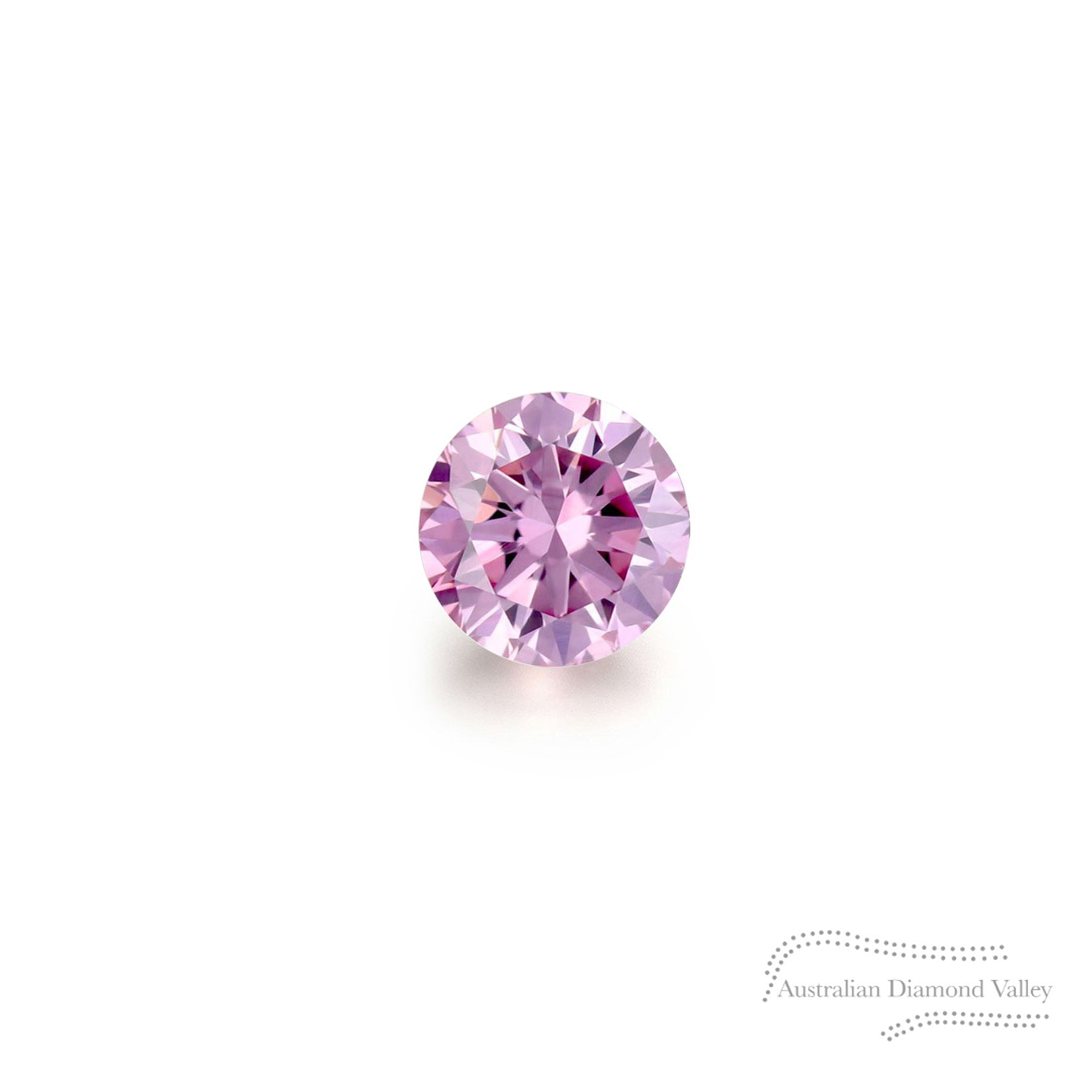 .02ct Authentic Australian Pink Argyle Diamond - 5P