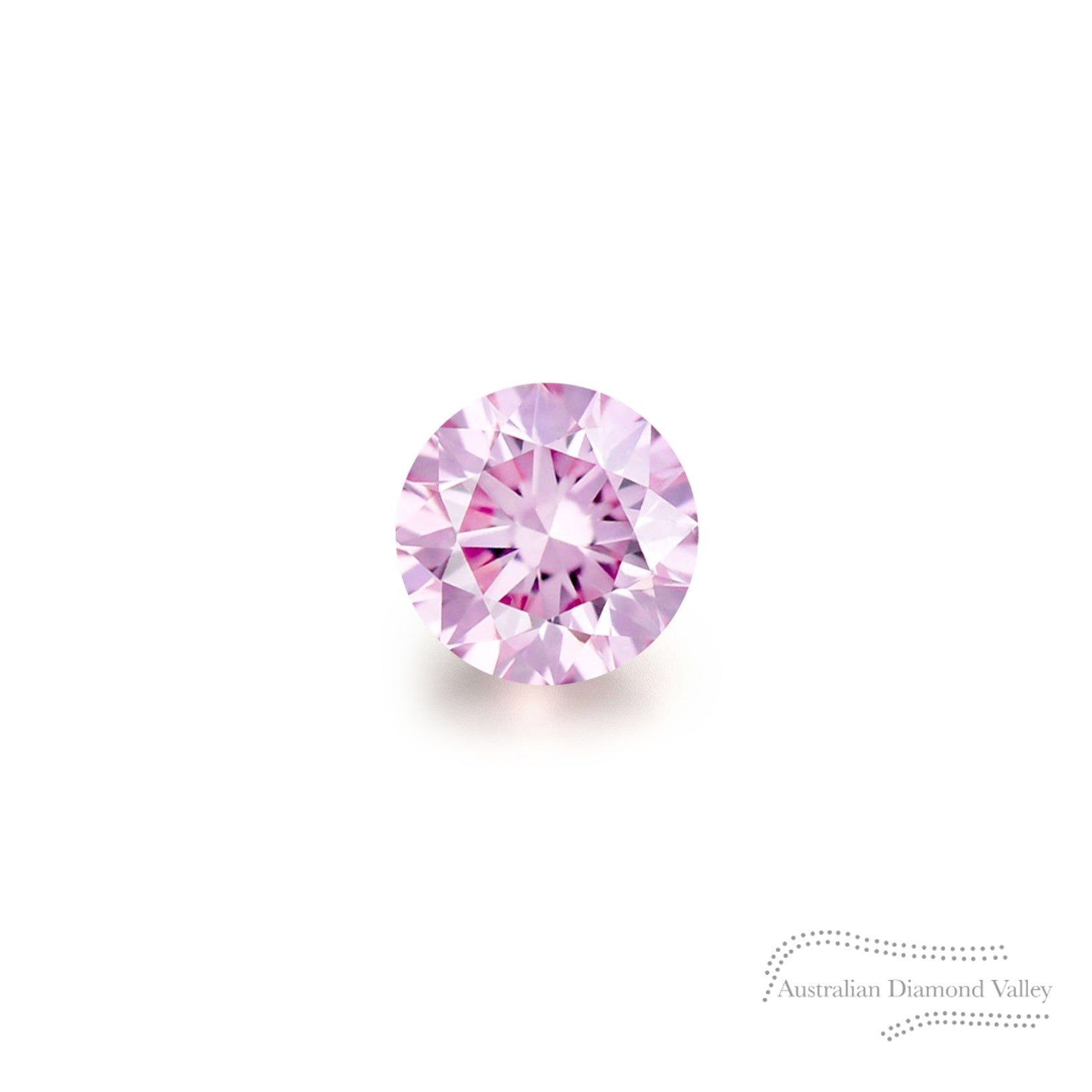.03ct Authentic Australian Pink Argyle Diamond - 6P