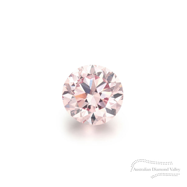 .05ct Authentic Australian Pink Argyle Diamond - 8P