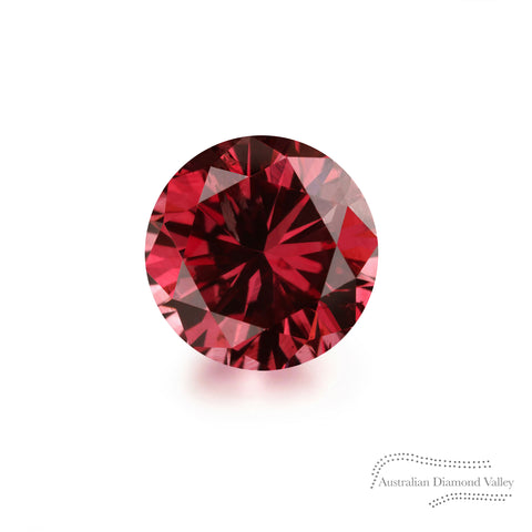 .10ct Authentic Australian Red Argyle Diamond - RED