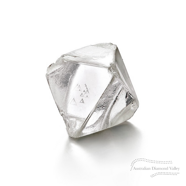 .38ct Authentic Australian White Argyle Diamond - H