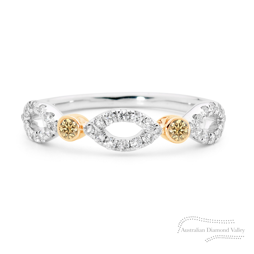 Champagne Reef Ring