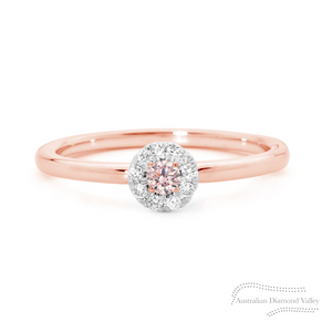 Pink Sunshine Ring