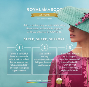 Royal Ascot At Home #StyledWithThanks