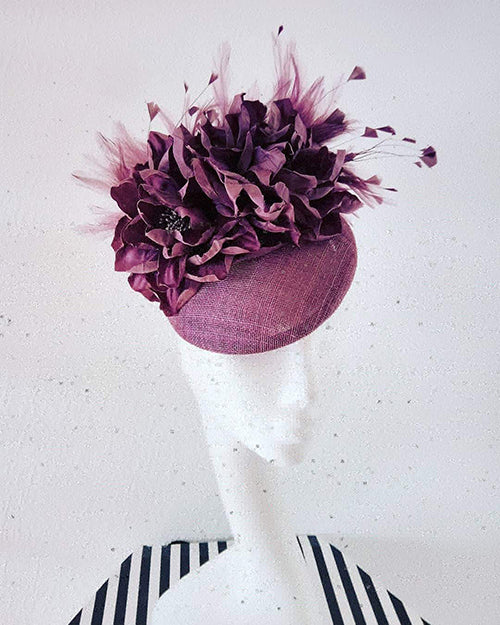 purple hat commissioned