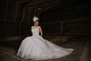 Bridal Tudor Crown Headpiece