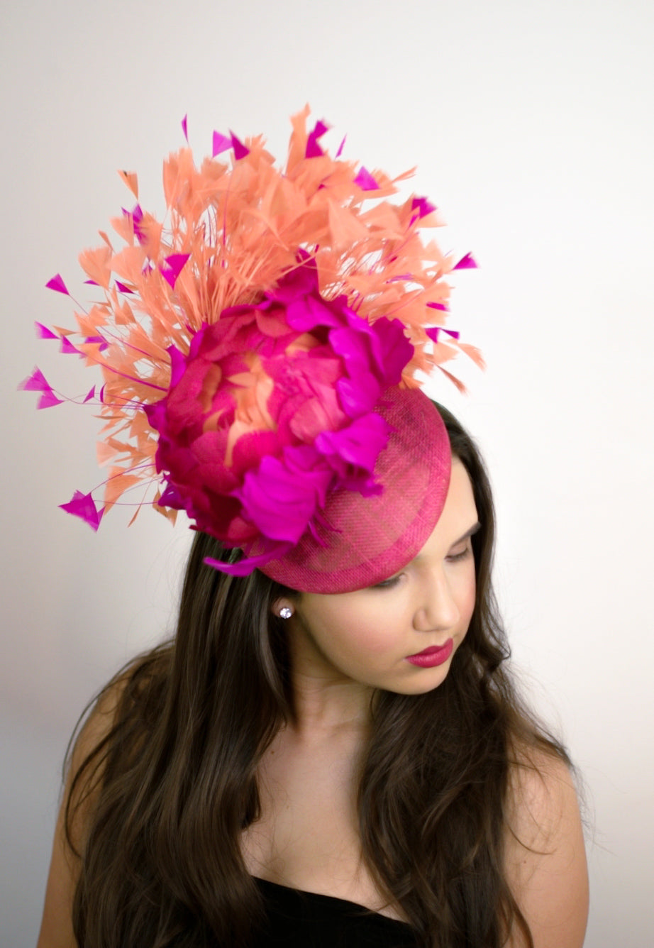 Statement Multi Coloured Headpiece