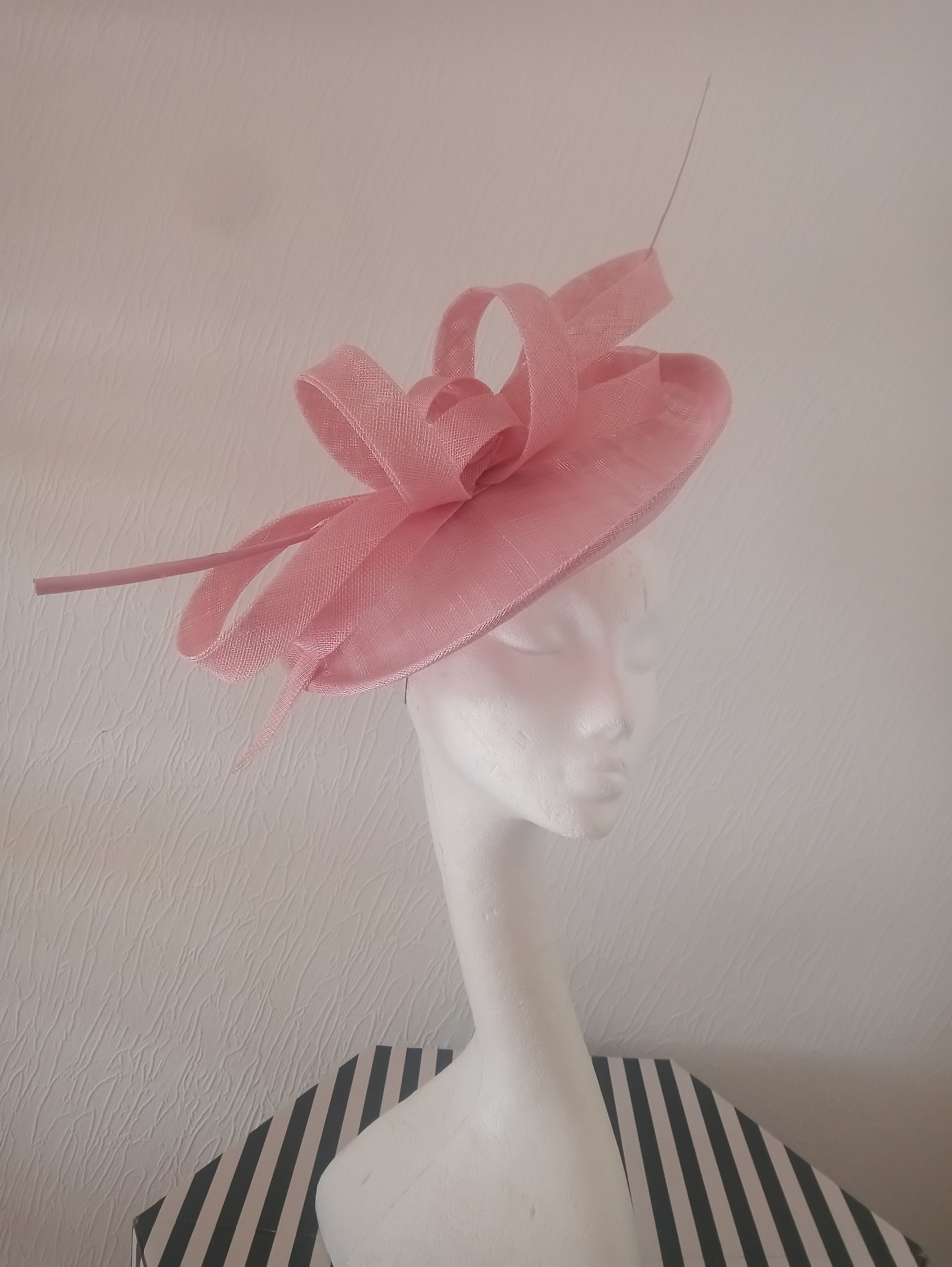 Light Pink Saucer Hatinator