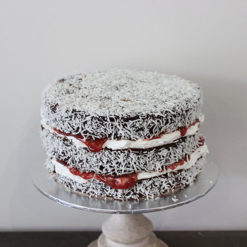 Vegan Lamington Cake