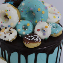 Load image into Gallery viewer, Donut Party Cake