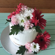 Load image into Gallery viewer, Vegan Cake with Flowers