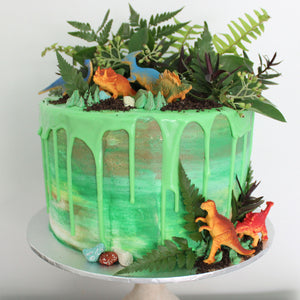 Dino/Safari/Army Cake