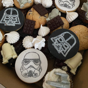 Space (star wars) theme dessert box