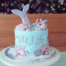 Load image into Gallery viewer, Mermaid Cake