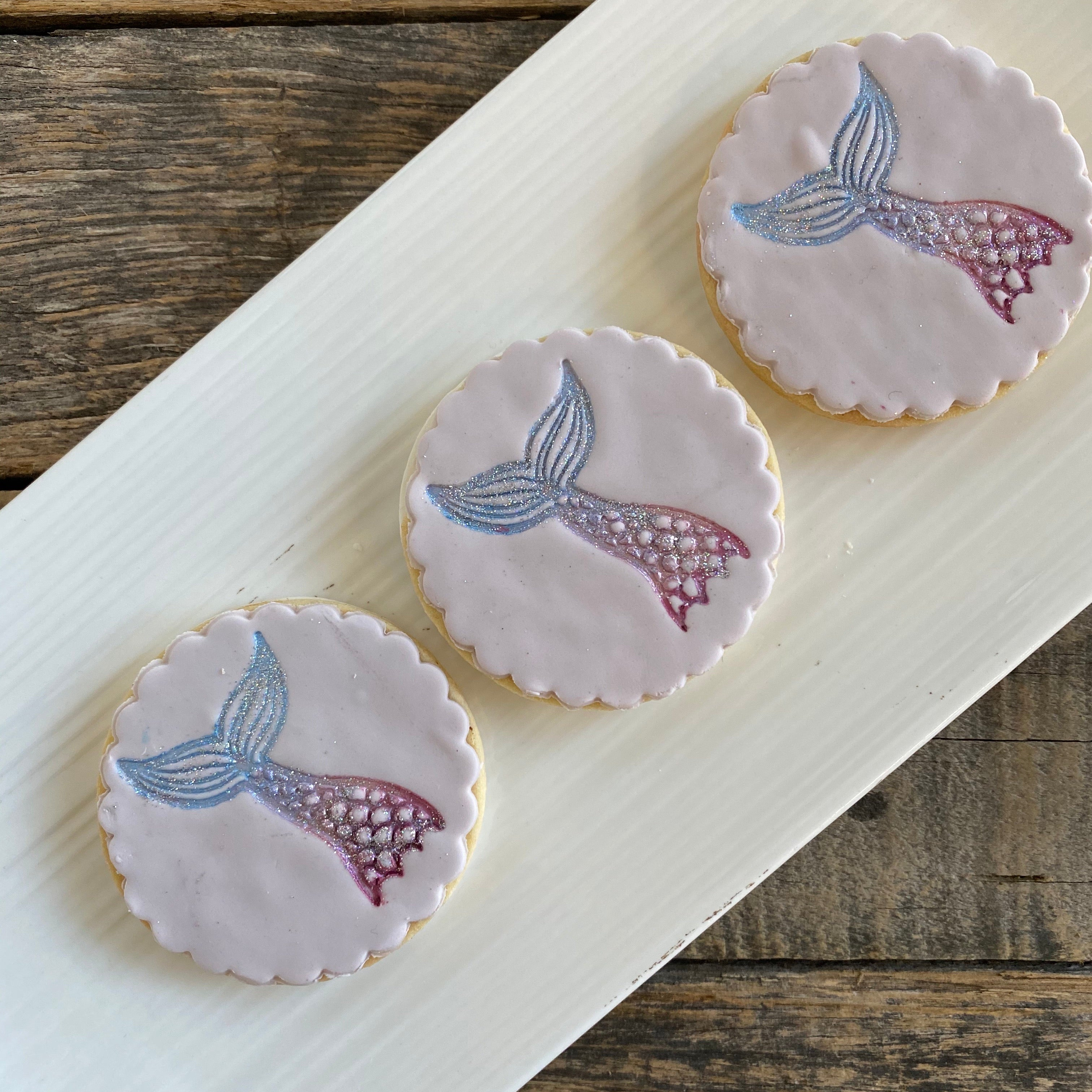 Sparkle Mermaid Cookie