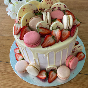 Macarons, Chocolates and Berries